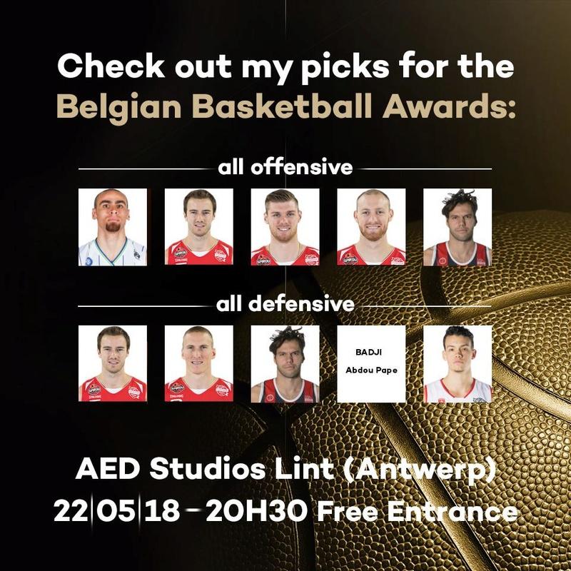 Belgian Basketball Award My_bel10