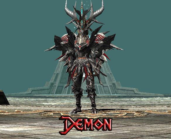 SET CUSTOM Para Todos Los Personajes Demon10