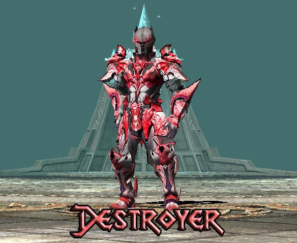 SET CUSTOM Para Todos Los Personajes Destro10
