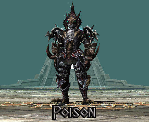SET CUSTOM Para Todos Los Personajes Poison10