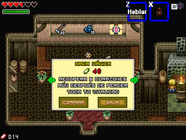 [RPG Maker ] The Legend of Zelda: Trident of Power (RM 2k3) Tienda10