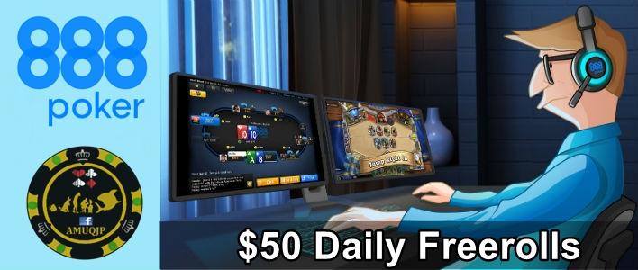 $50 Freerolls Diarios Poker_10
