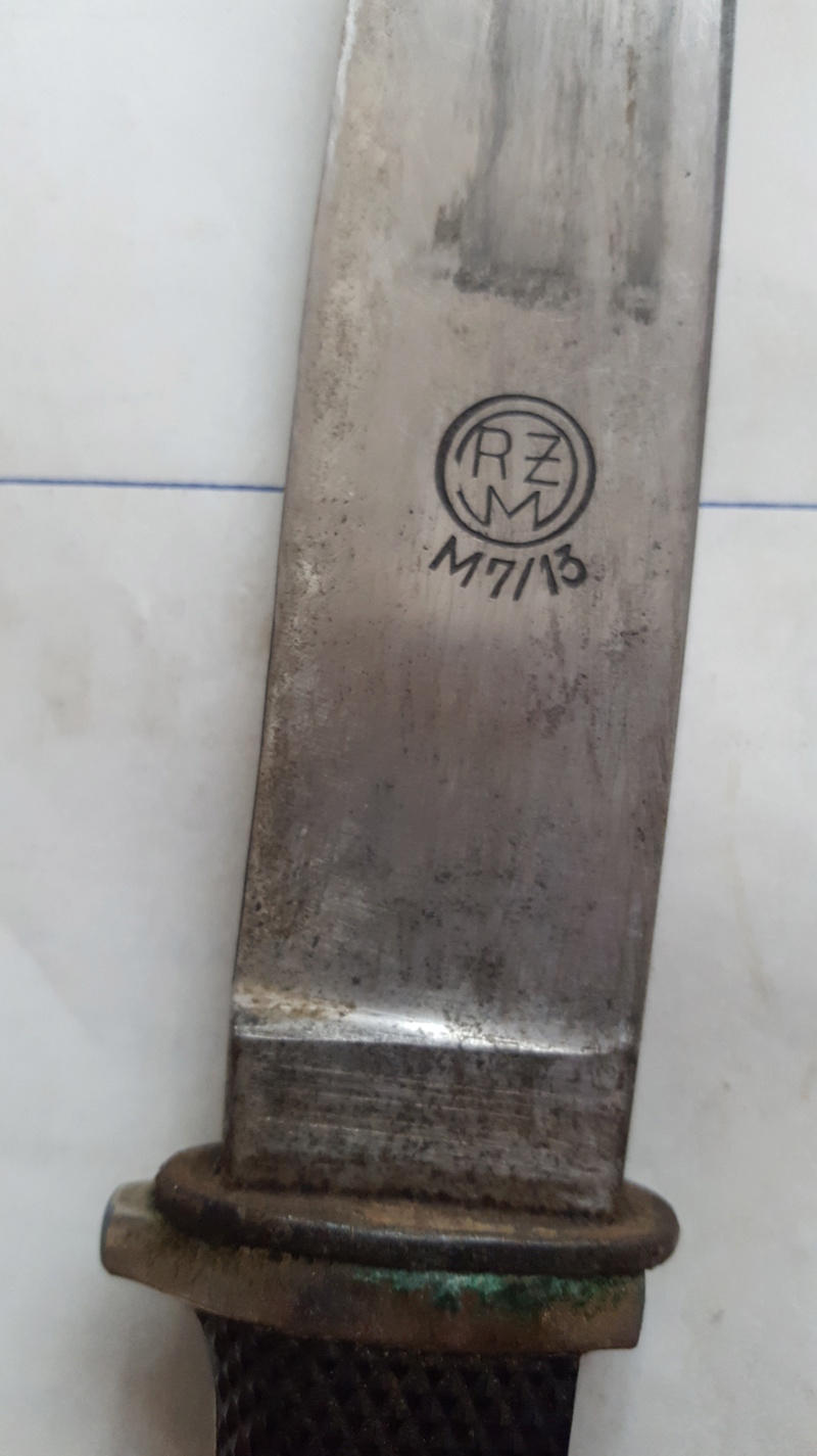 Couteau Hitlerjugend et dague officier luftwaffe 20180556