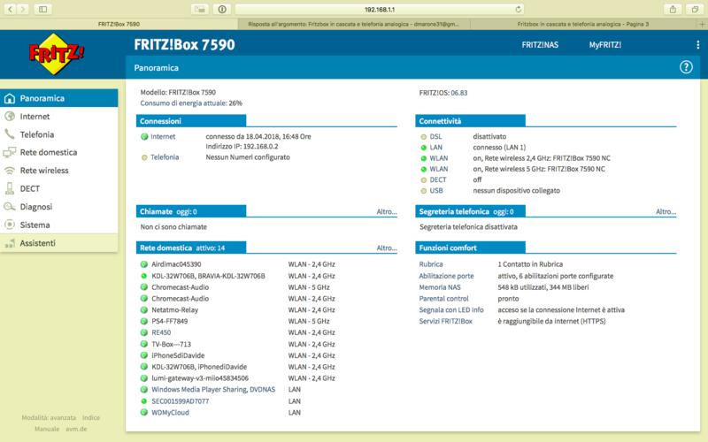 Fritzbox in cascata e telefonia analogica - Pagina 3 Scherm10