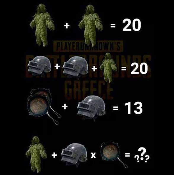 Pubg math - who can find it? 31818410
