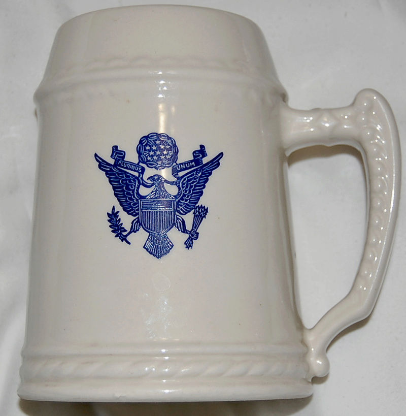 Patriotic Tankards with N logo surrounded by laurel Dsc_0111