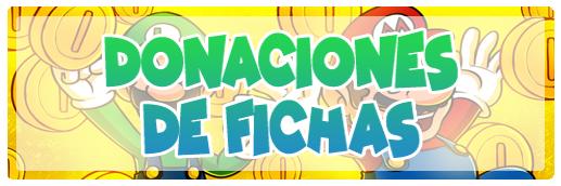 DONACIONES DE FICHAS