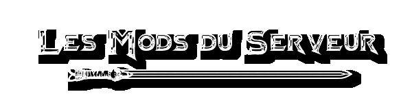 Les Mods du Serveur  Modsdu10