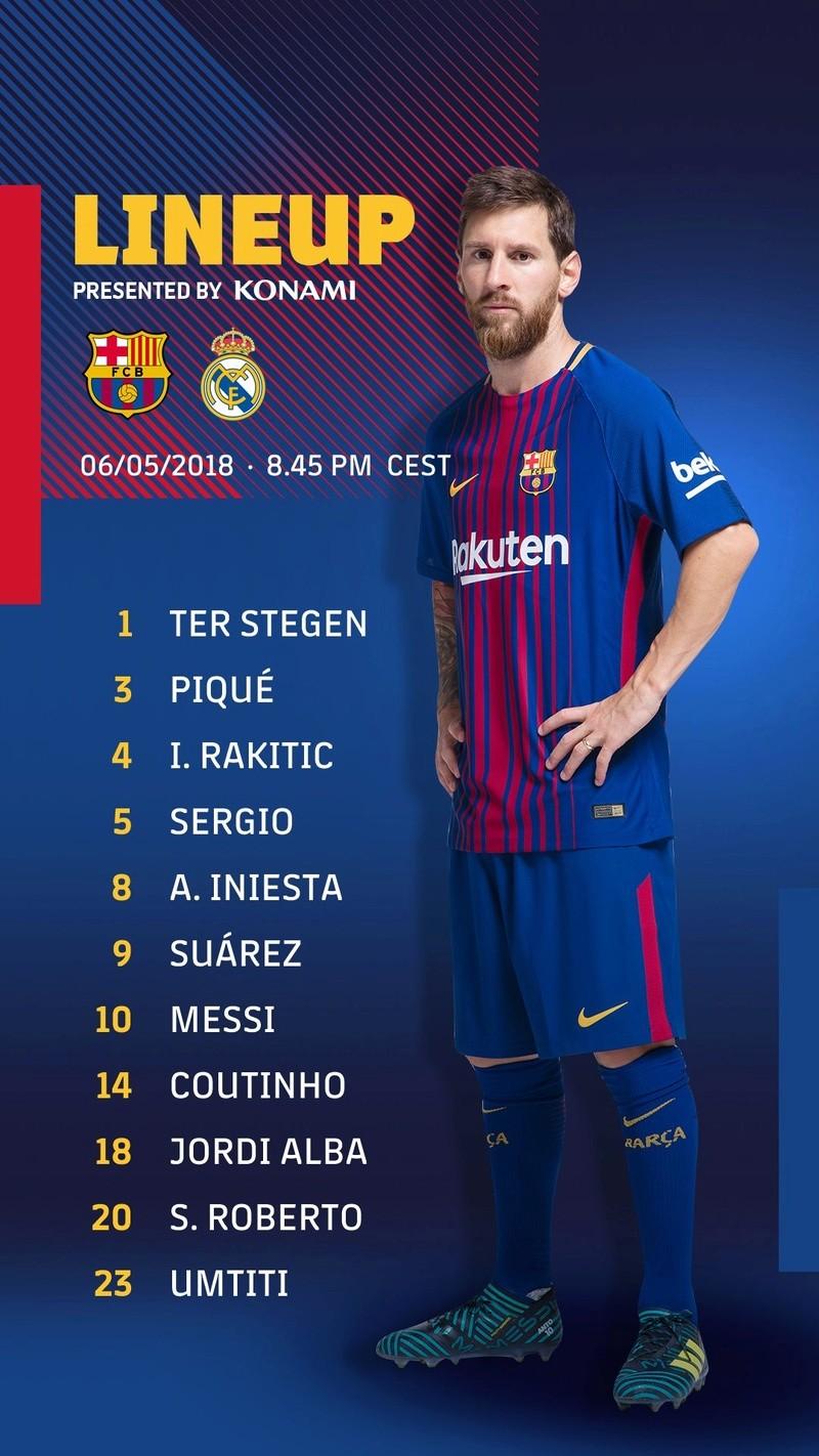 Barcelona Vs Real Madrid   La Liga 2017-18   Matchday 35 Dch98t10