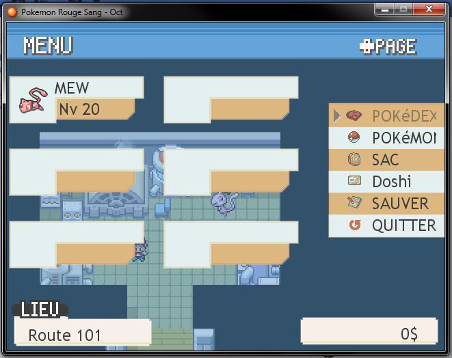 Pokemon de départ : mode aléatoire Mew10