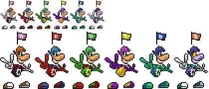 Nicrom's Sprites (Rayman, Ristar and Mewtwo) Sprite11