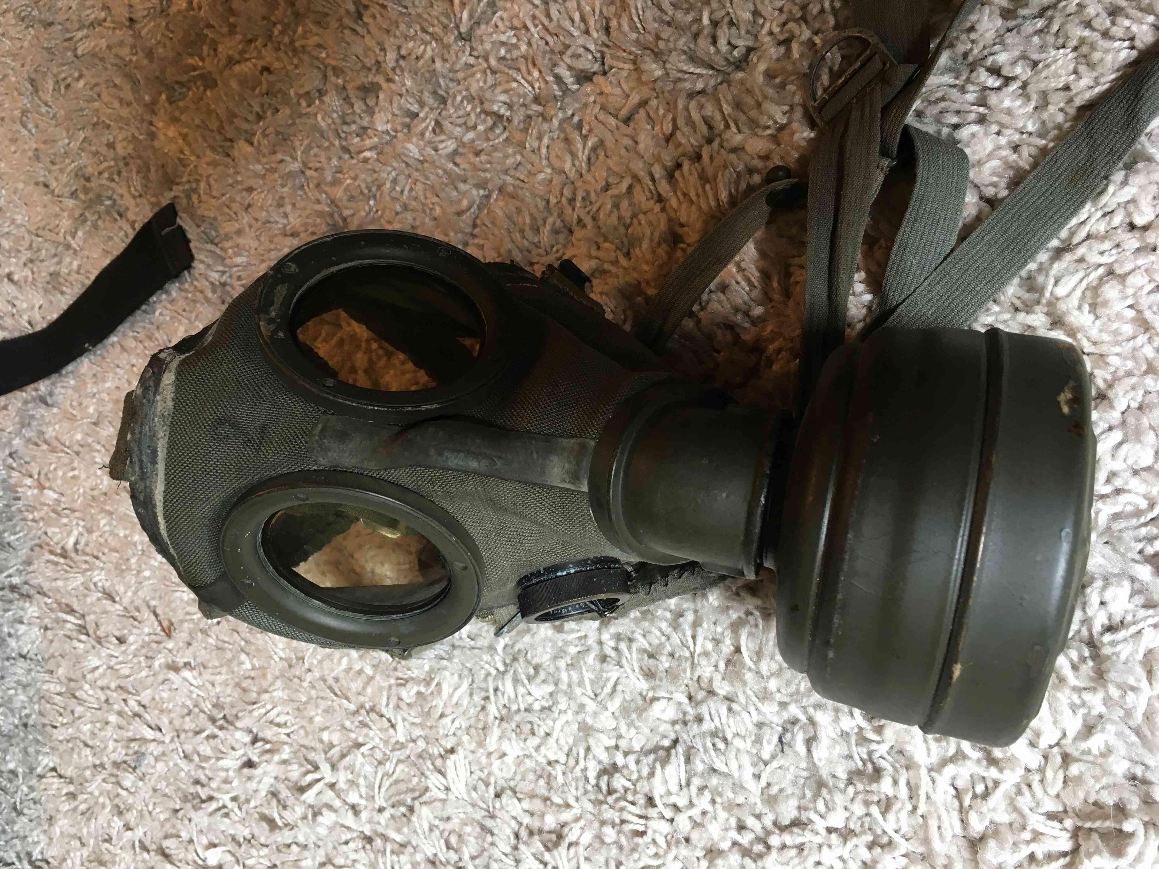 Masque a gaz allemand seconde guerre mondiale. Img_2923