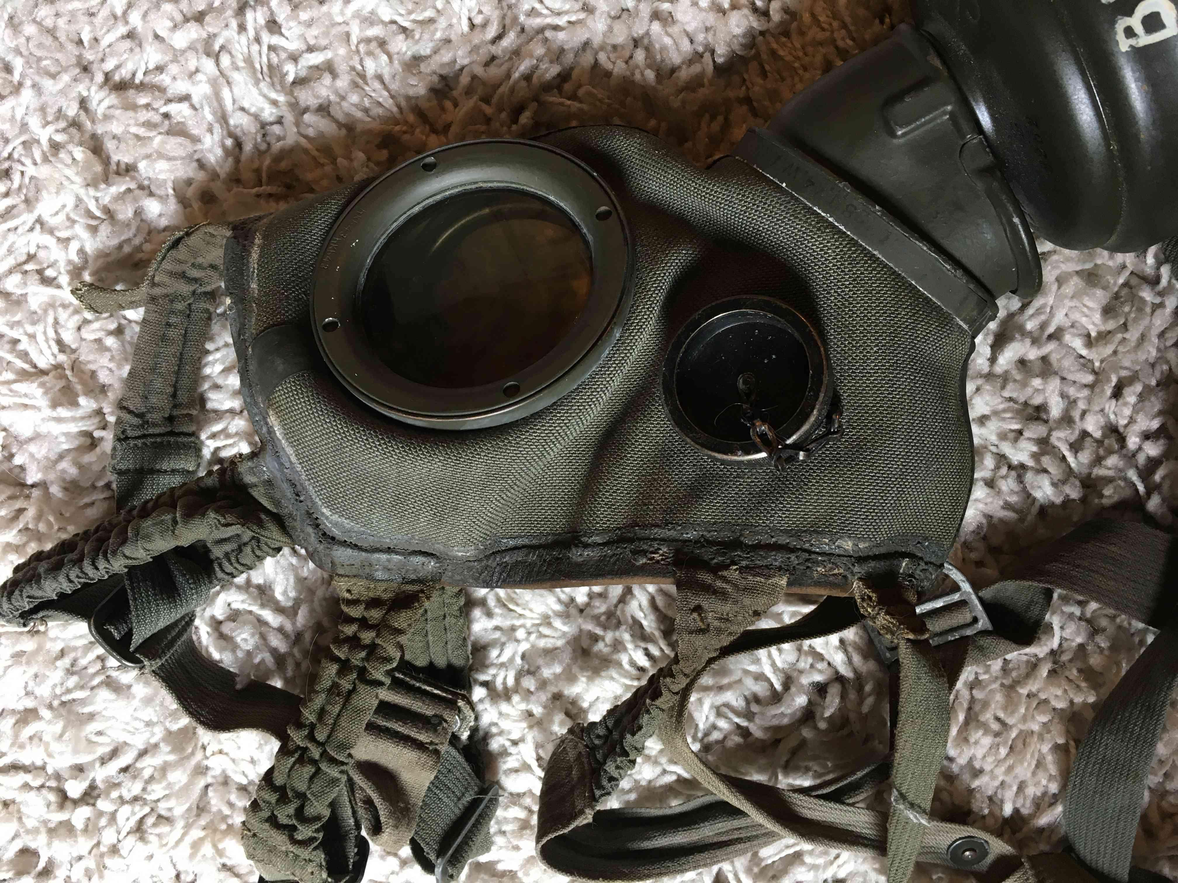 Masque a gaz allemand seconde guerre mondiale. Img_2925