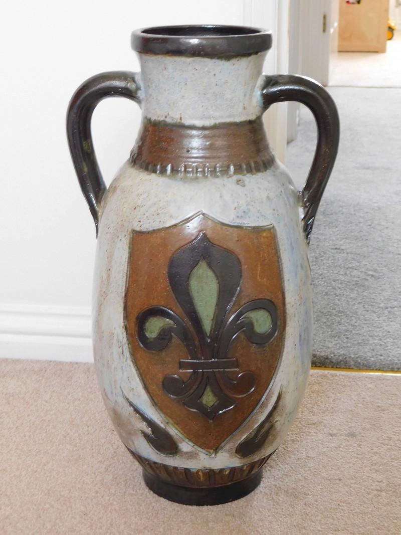Large studio art vase 111