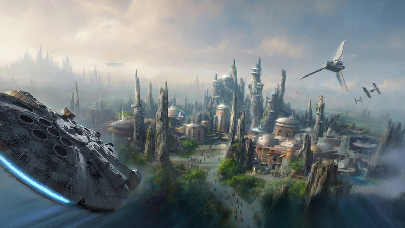 Star Wars land Disneyland Resort -new 2019- 8_15_w10
