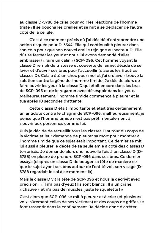 Rapport du Chercheur Eaven Dall sur SCP-096 Screen32