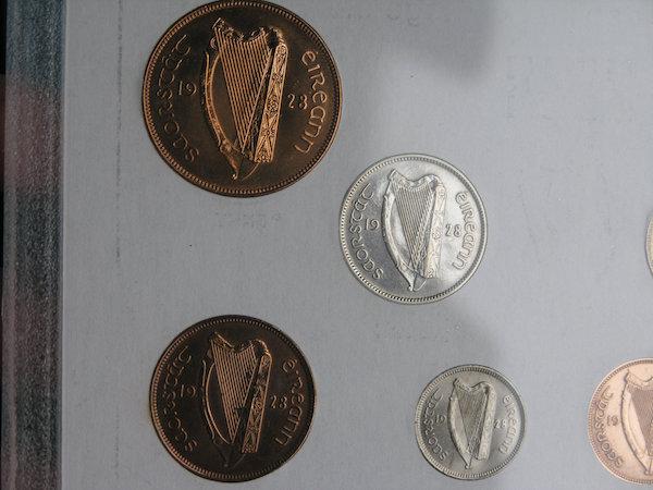 Estado Libre Irlandés (1928, primera serie de monedas) ¿EBC/SC/proof? 310
