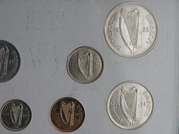 Estado Libre Irlandés (1928, primera serie de monedas) ¿EBC/SC/proof? 410