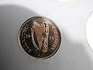 Estado Libre Irlandés (1928, primera serie de monedas) ¿EBC/SC/proof? 8b10