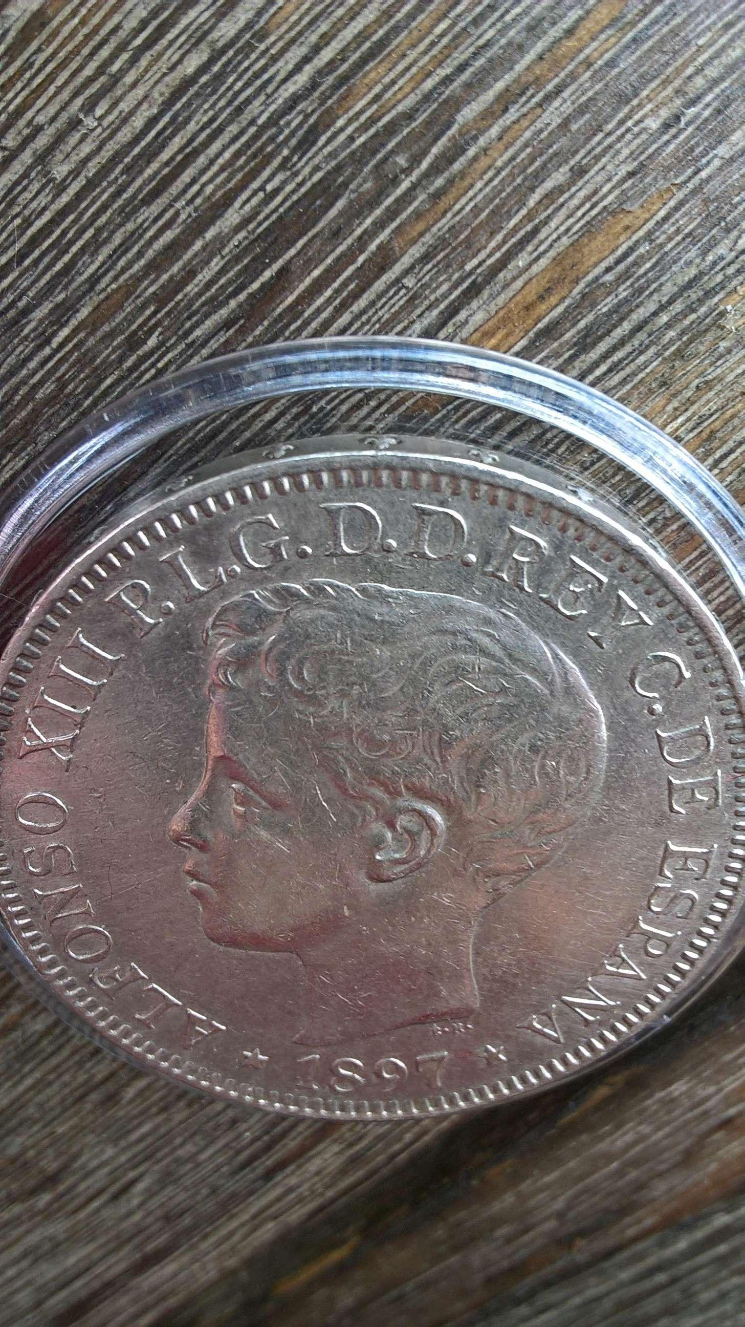 1 peso de Islas Filipinas. Alfonso XIII 1897 ¿estado de conservación? Anvers12
