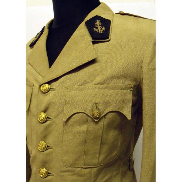 Identification tenue infanterie coloniale  Veste-10