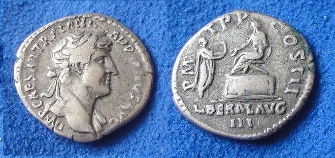 Et 2 de plus...Caesar Trajan ?...et une jolie bronze ??? Un10