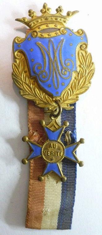 Medalla al mérito escolar (francesa). S. XX Medall11