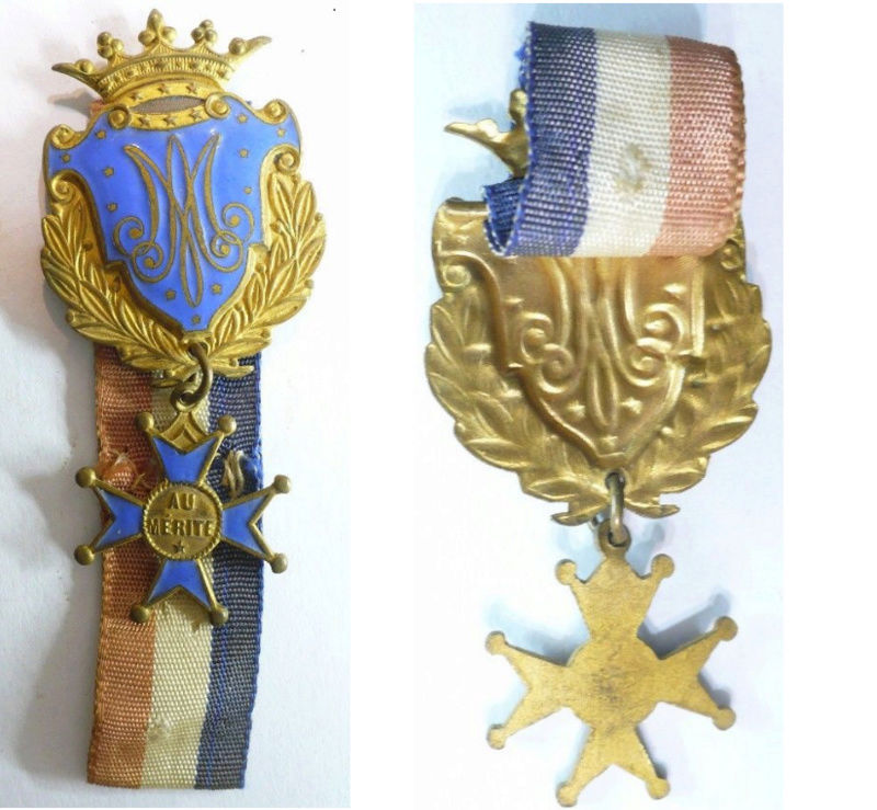 Medalla al mérito escolar (francesa). S. XX Medall12