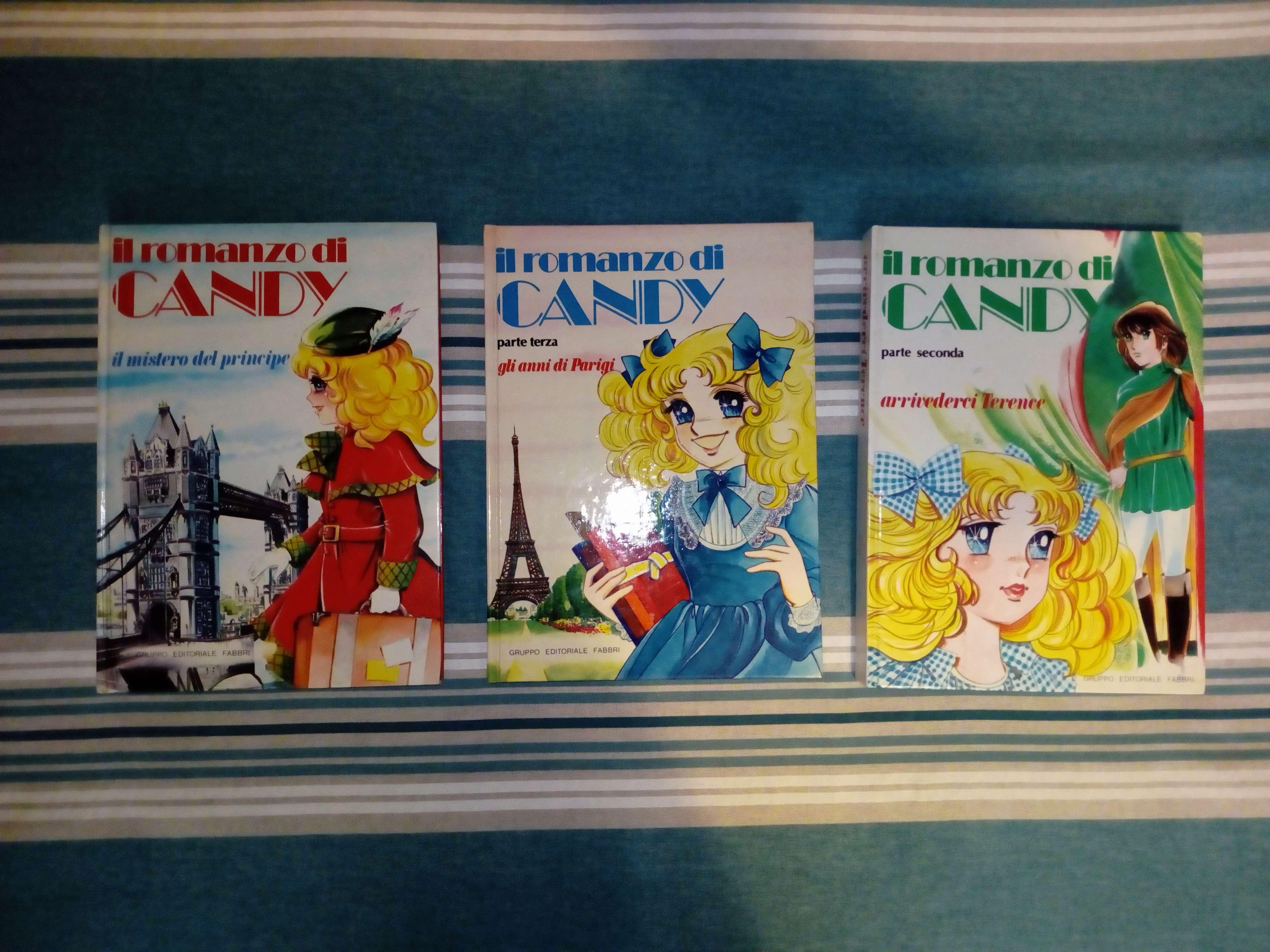 CANDY CANDY serie di 3 libri in condizioni eccellenti Candy10