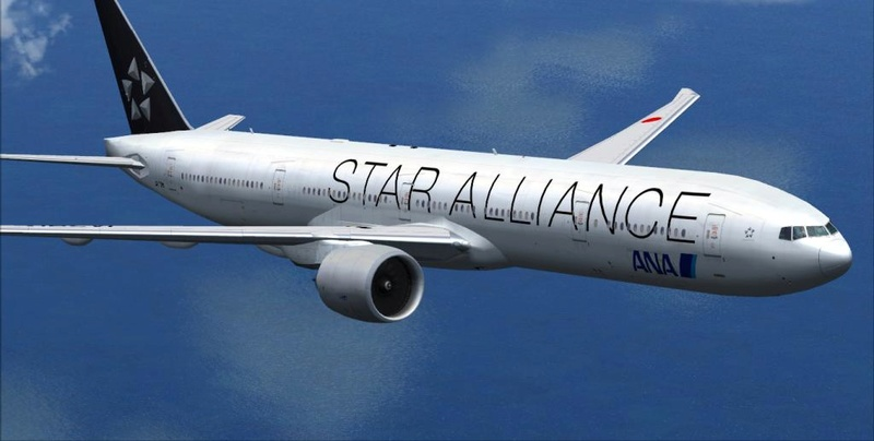 INSTALANDO VÁRIOS BOEING 777-300 E 777-300ER DO PACOTE Tfybjn10