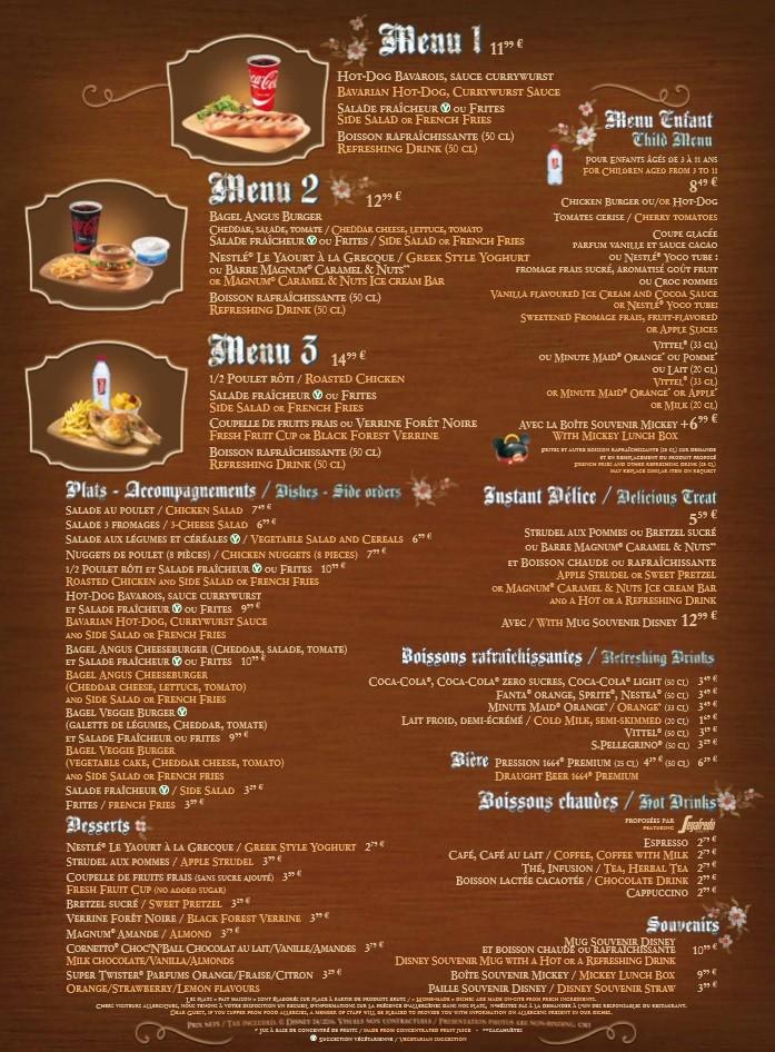 Menu ristorazione rapida 001b1112