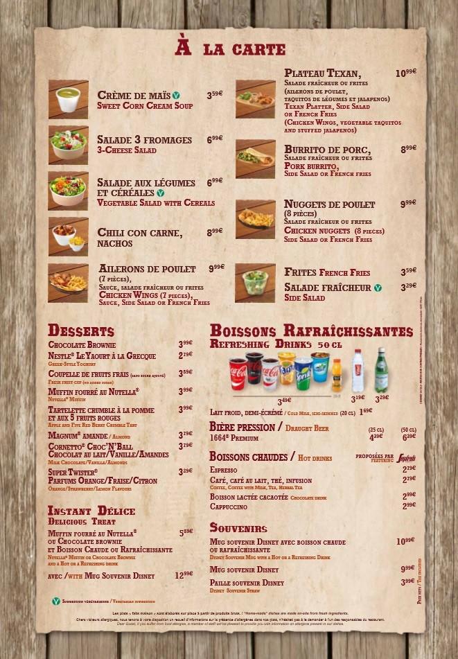 Menu ristorazione rapida 001b1410