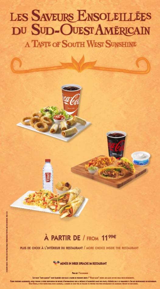 Menu ristorazione rapida 011010