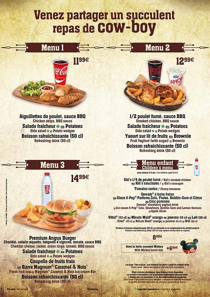 Menu ristorazione rapida Menu-c10