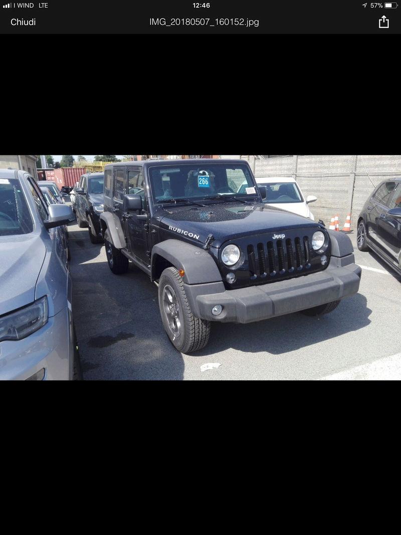 Nuovo acquisto jeep Wagner unilimited F3b89c10