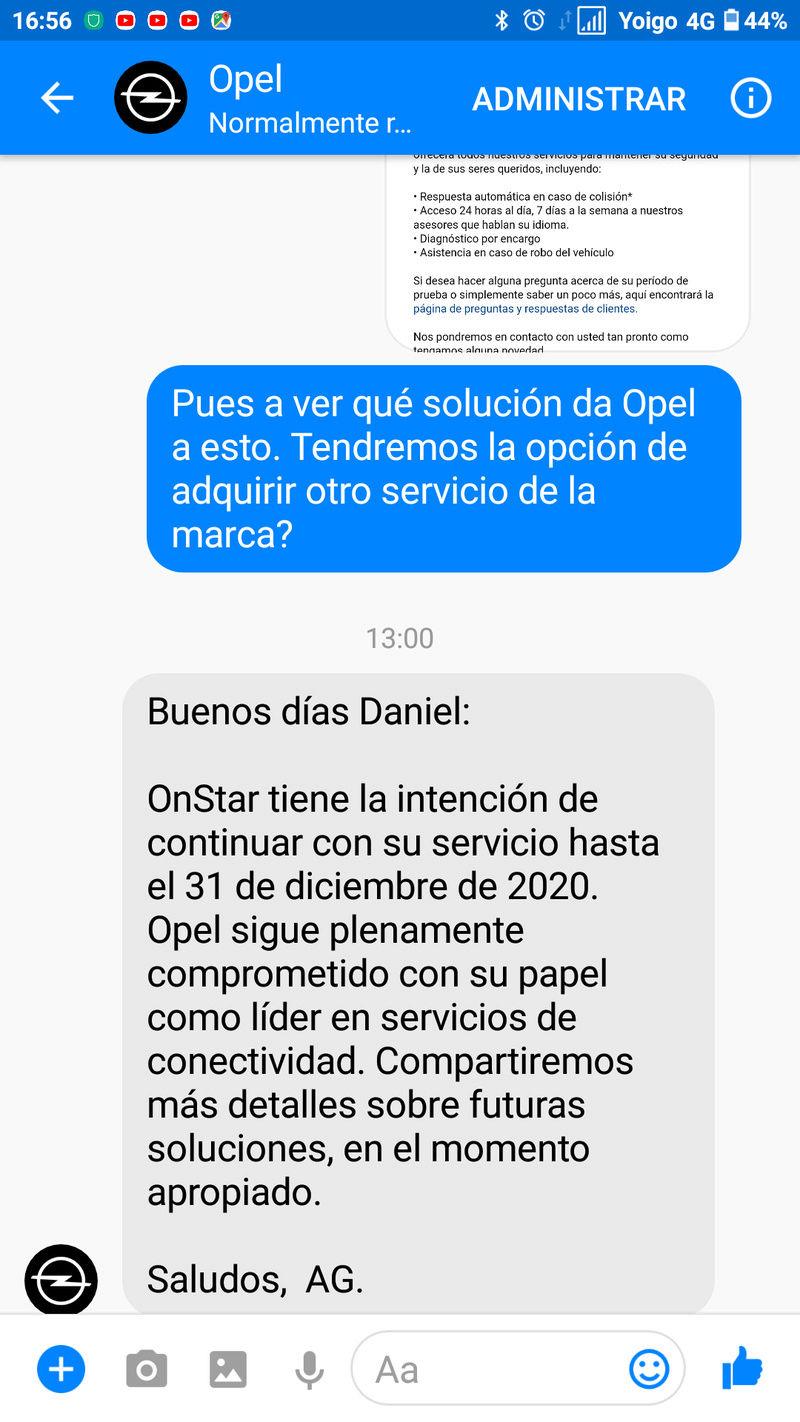 Demanda colectiva a Opel? OnStar se desactivará a partir del 1 de Enero de 2021 - Página 3 Screen11