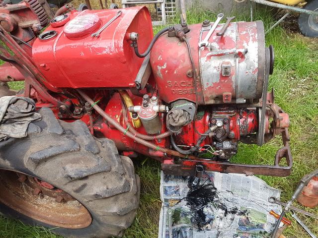restauration - Restauration bungartz L5D moteur sachs diesel 2 temps 600L 20180511