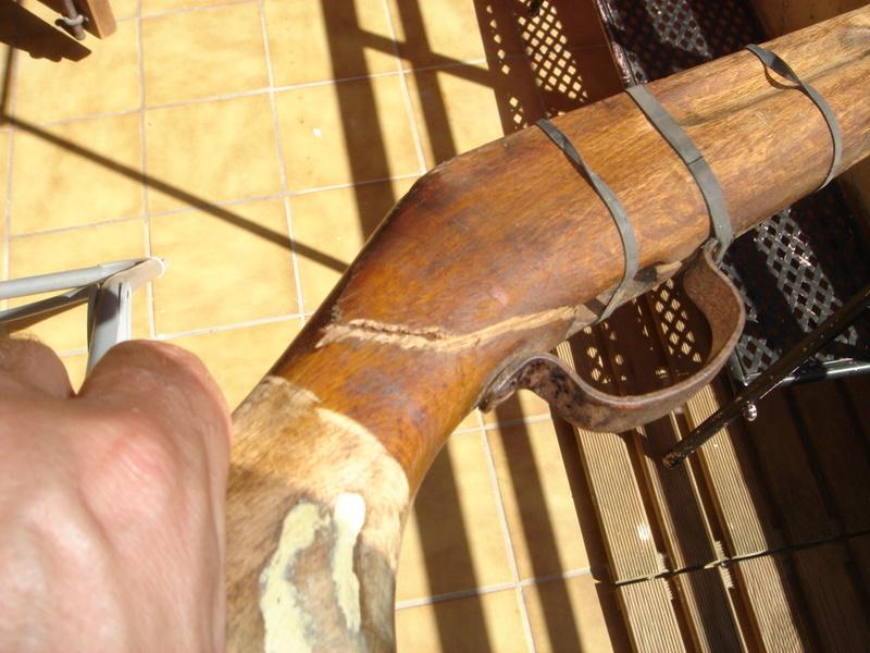 carabine slavia 618 refection pièces Dsc04117
