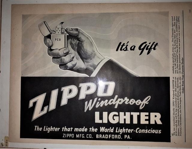 Fac similé zippos anciens 194610