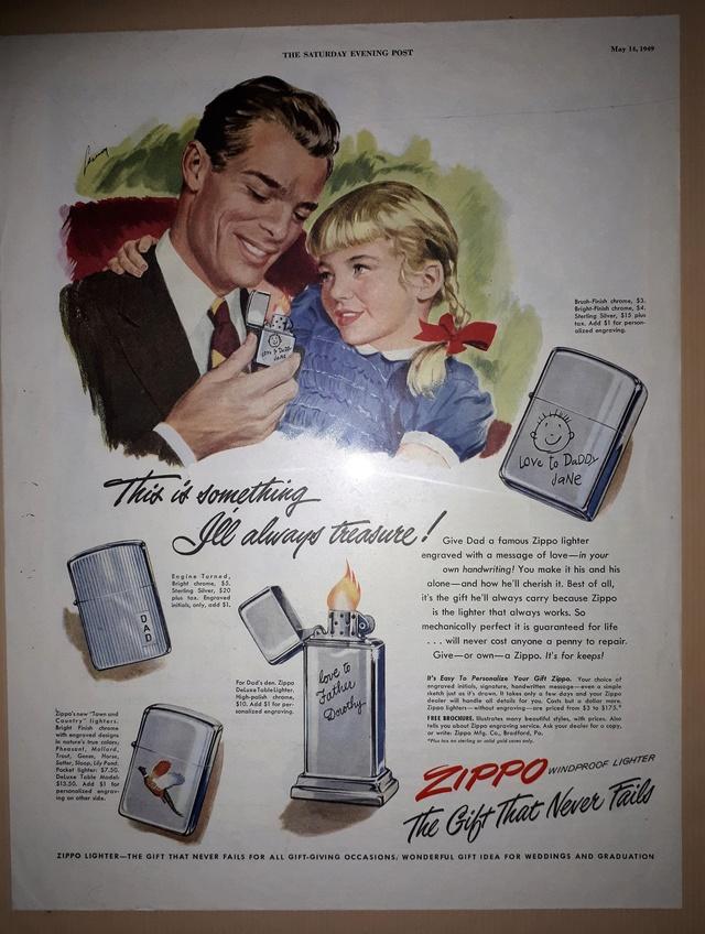 Fac similé zippos anciens 194910