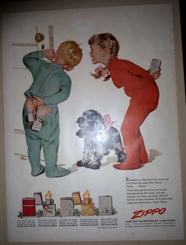 Fac similé zippos anciens 195210