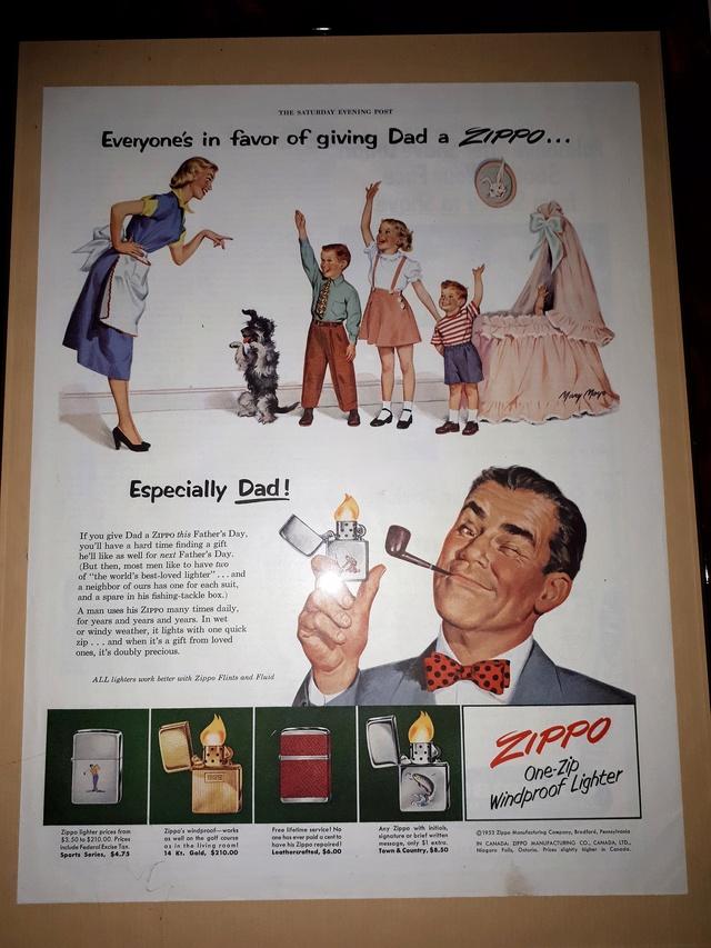 Fac similé zippos anciens 195310