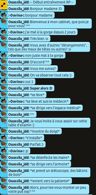 [C.H.U] Rapports d'action RP de Ouassila_jdd 110