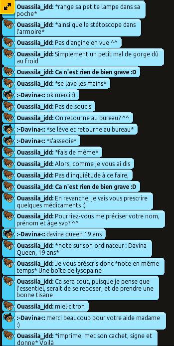 [C.H.U] Rapports d'action RP de Ouassila_jdd 310