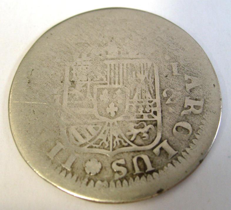2 REALES DE CARLOS III  DE MADRID A IDENTIFICAR S7300211