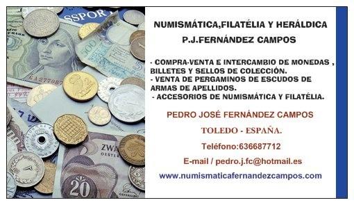 Numismatica en Toledo  Tarjet10