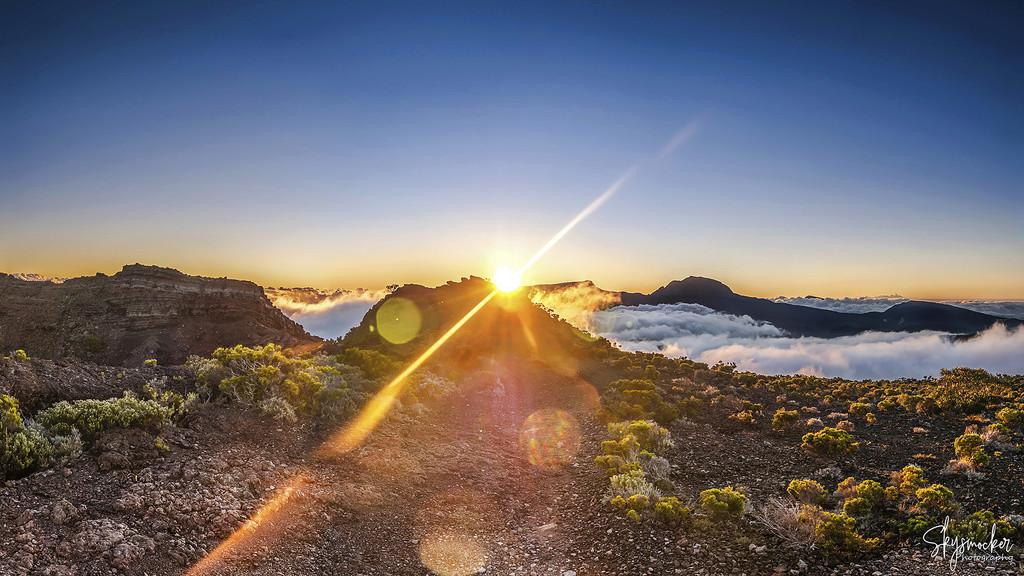 Sunset Ile de la Réunion :) Pano211