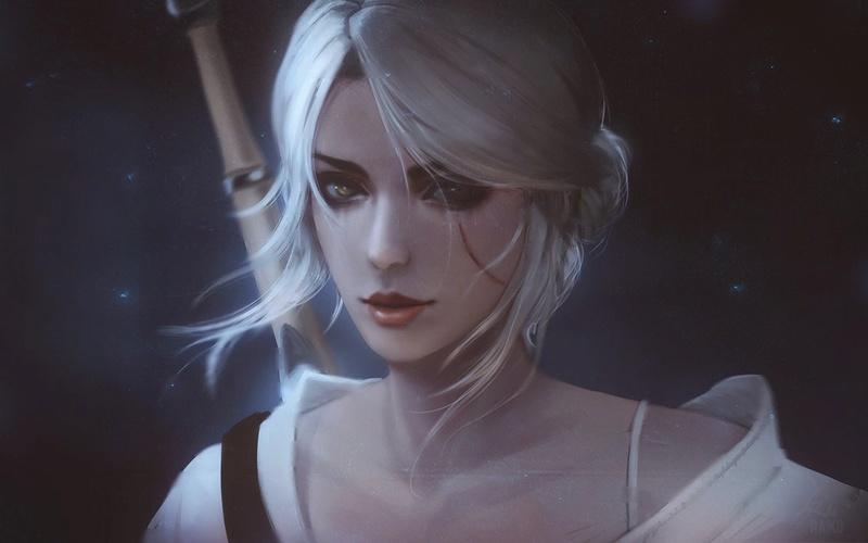 The White Spirit| Bluinse Aodhgan ID Ciri_511