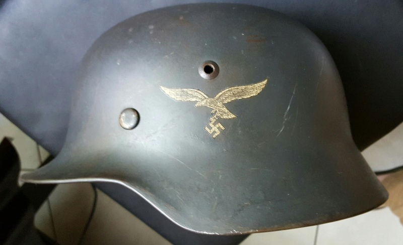 Casque Luftwaffe Img_9211