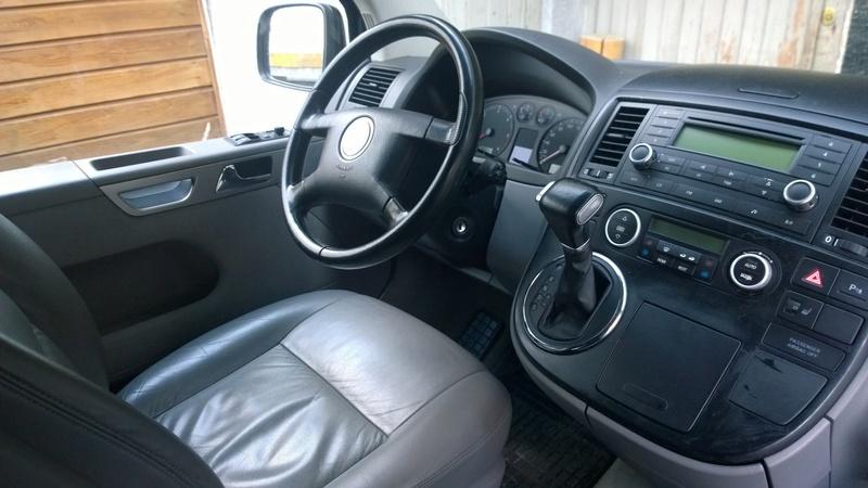 Avis concernant un multivan 2,5 TDI 130 CV boite DSG 6 de 2006 Wp_20112